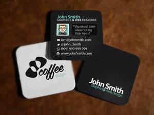 Criação de Mini Cartões Personalizados em Santos
